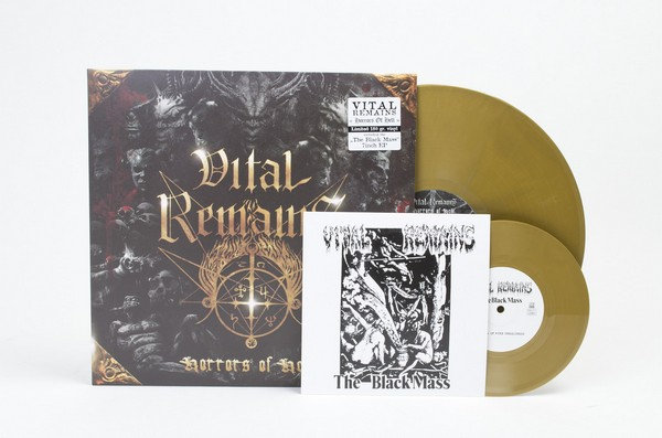 Horrors Of Hell (gold LP + 7Inch)