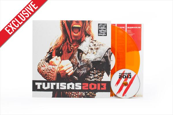Turisas2013 (transp. orange LP+CD)