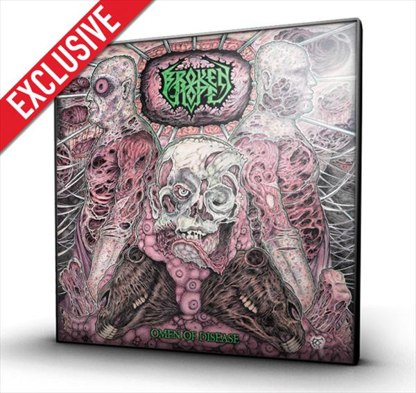 Omen Of Disease  (white LP+CD)