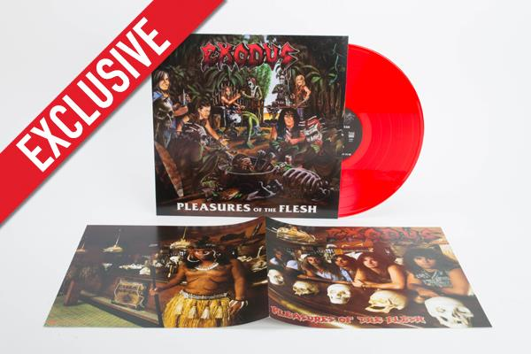 Pleasures Of The Flesh (LP-Reissue 2014 transp. red LP)