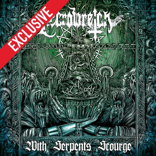With Serpents Scourge (dark green LP & Poster)