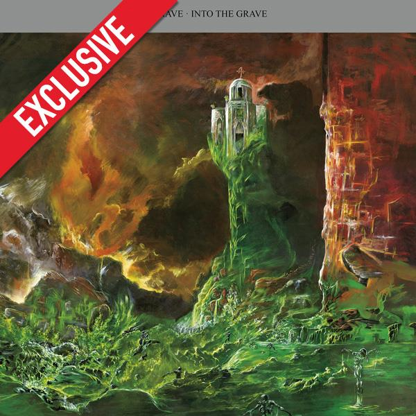 Into the Grave (Re-issue 2015) (clear LP)