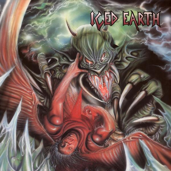 Iced Earth(Reissue2015 Gatefold transp. green LP&Poster)