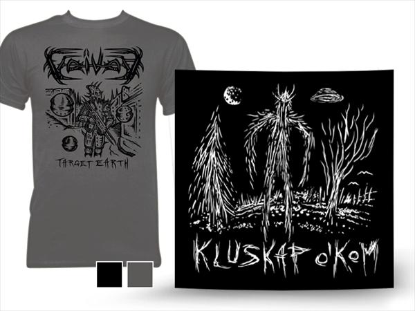 Kluskap O' Kom 7inch black + Shirt (black or Grey)