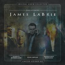 Discovering JAMES LABRIE  (Ltd. 3CD Box set)